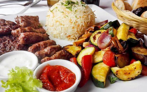 Speciality balkánské kuchyně pro 2 i 4 labužníky