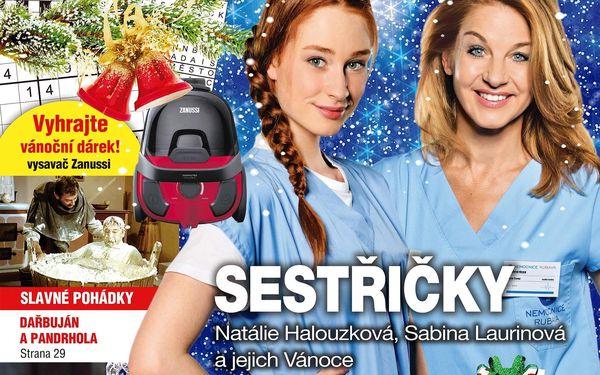Roční předplatné časopisu Křížovkář + speciál Čas na dovolenou5