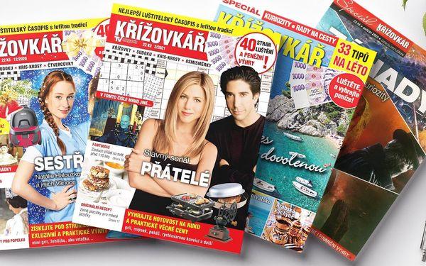 Roční předplatné časopisu Křížovkář se speciálem