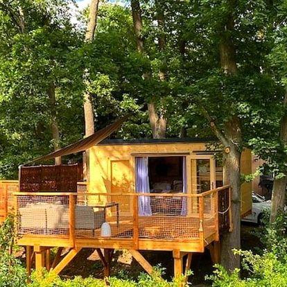 Český ráj: domek na stromě pro 4 osoby, snídaně