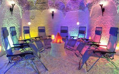 Ozdravný pobyt v solné jeskyni pro děti a dospělé