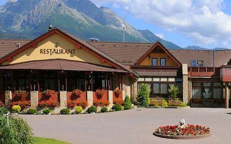Tatranský wellness pobyt v jedinečném hotelu s nádechem italského stylu, Vysoké Tatry