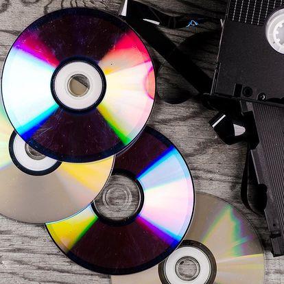 Sbohem, kazety: Přepis videa z až 5 VHS kazet na DVD