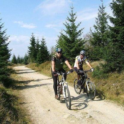 Pobyt pro cyklisty v srdci Jizerských hor