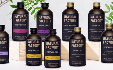 Organická kosmetika: šampon, mléko, i sprchový gel