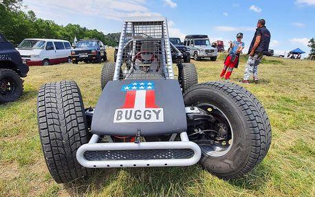 Adrenalin za volantem jednomístné buggy pro 1 osobu
