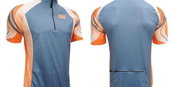Cyklistický dres TRX, modrý | Velikost: M4