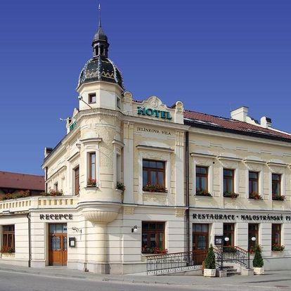 Vysočina: Hotel Jelínkova vila