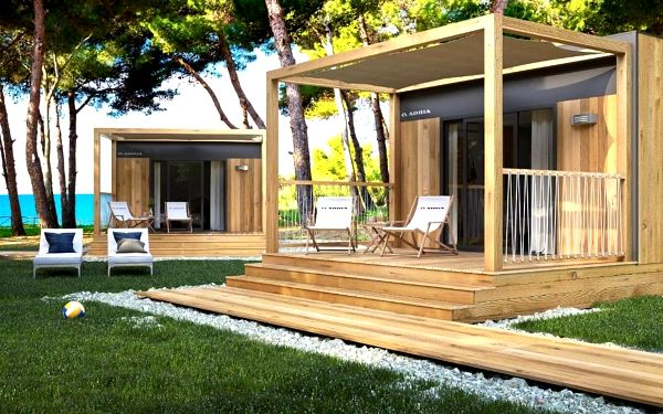 Chorvatsko, Poreč: Casapini Couple Mobile Home FKK