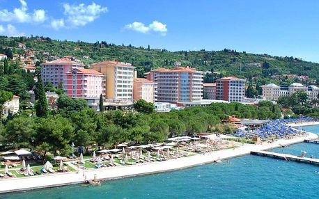 4* Hotel Apollo v letovisku Portorož se snídaní
