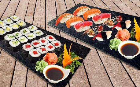Sushi sety s 10–36 ks nigiri a maki rolek