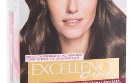 L´Oréal Paris Excellence Creme Triple Protection 48 ml barva na vlasy pro ženy 500 Natural Brown