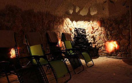 Vstupy do solné jeskyně na 45 min. pro dva i rodinu
