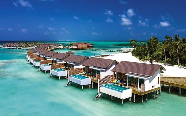 Hotel Atmosphere Kanifushi, Maledivy, letecky, all inclusive5
