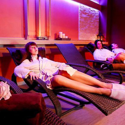 Relax v historickém Táboře s jídlem a wellness