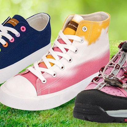 Dámská a pánská obuv Alpine Pro: tenisky i sandály