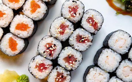 Sushi sety v centru Ostravy: 24 či 50 ks