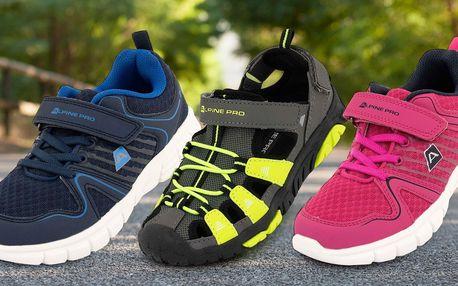 Dětská obuv Alpine Pro: sandály i městské botky