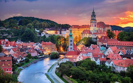 Nádherný Český Krumlov jen 5 minut chůze od historického centra v útulném Penzionu Hornička + snídaně