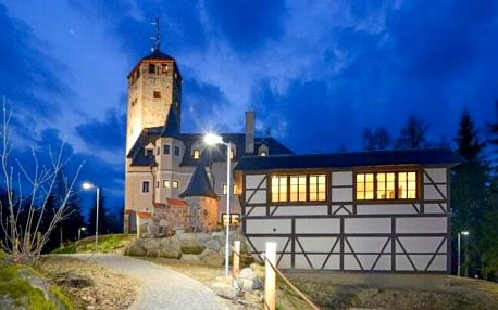 Liberec v blízkosti ZOO i přírody: Jedinečný pobyt v Hotelu Liberecká výšina s rozhlednou, dárkem a polopenzí