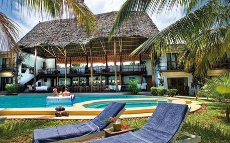 Tanzanie - Zanzibar letecky na 12-13 dnů