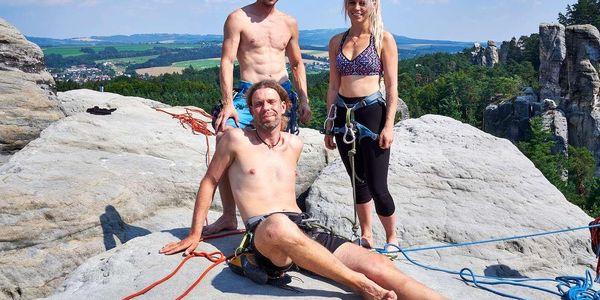 Kurz lezení - 1 den pro 1 osobu5