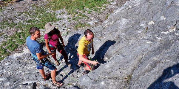 Kurz lezení - Skály na zkoušku 120 min pro 1 osobu4