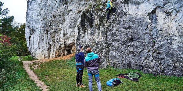 Kurz lezení - Skály na zkoušku 120 min pro 1 osobu5