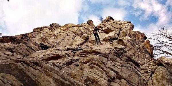 Základy lezení s úvodní instruktáží a pod dohledem zkušeného instruktora