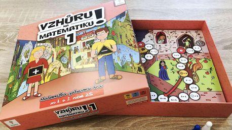 Vzhůru na matematiku! 1 - zábavná hra pro děti i jejich rodiče
