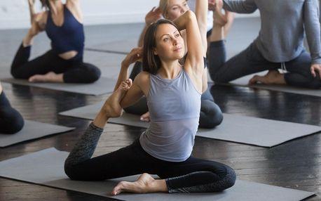 2–8 lekcí jógy podle výběru v Jinonicích