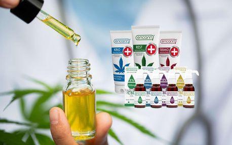 CBD olej nebo krém na úlevu od stresu, úzkosti, deprese a různých bolestí