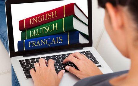 Konverzace angličtiny, němčiny, francouzštiny nebo španělštiny