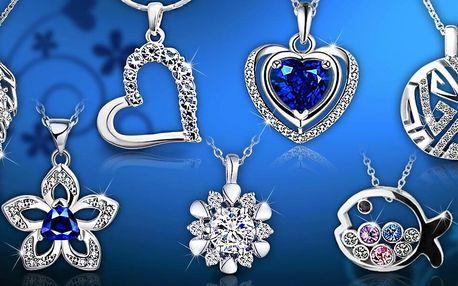 Náušnice a náhrdelníky s krystaly Swarovski a zirkony