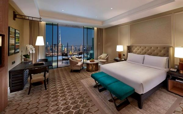 Mandarin Oriental Jumeira, Dubai, Dubai, Spojené arabské emiráty, Dubai, letecky, snídaně v ceně4