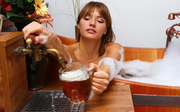 Relaxace v pivních lázních pro 2 osoby5