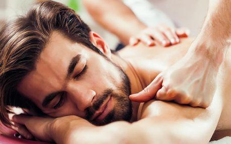 Relax pro muže: masáže zad a šíje či celého těla