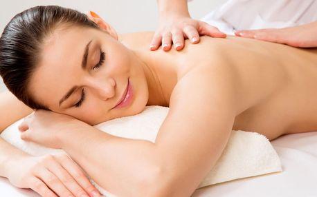 Dopoledne na masáž: 45, 60 nebo 90 minut relaxu
