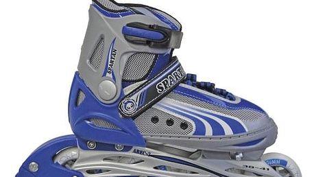 Dětské kolečkové brusle SPARTAN Storm modré 34-37