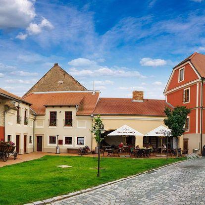 Romantika a gastronomické zážitky kousek za Prahou