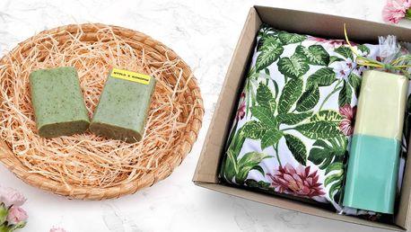 Ručně vyrobená mýdla s glycerinem i bylinkami