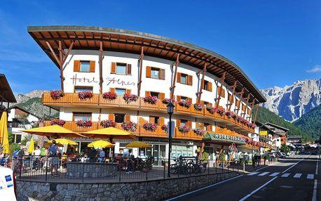 3* Hotel Des Alpes v oblasti Selva di Val Gardena se snídaní