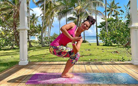 Online lekce dynamické a jemné jógy z Karibiku