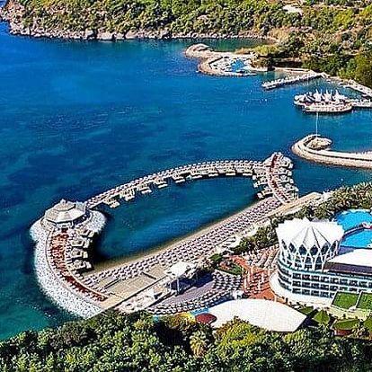 Turecko - Alanya letecky na 8-15 dnů, ultra all inclusive