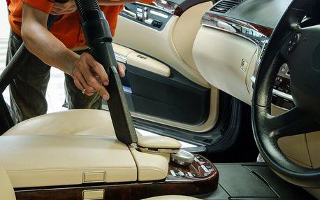 Auto jako nové: mytí zvnějšku i čištění interiéru