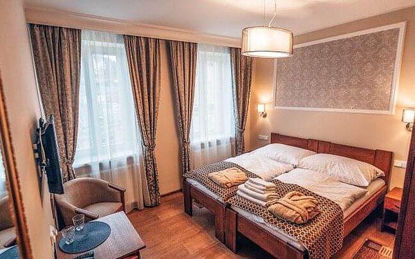 Karlovy Vary v blízkosti kolonády a Alžbětiných lázní v Hotelu Star **** s koupelí, saunou, masáží a snídaní