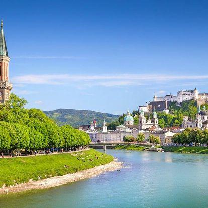 Kouzelný Salzburg a ubytování v hotelu s TOP hodnocením 3 dny / 2 noci, 2 os., snídaně