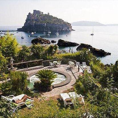Itálie - Ischia letecky na 8 dnů, polopenze