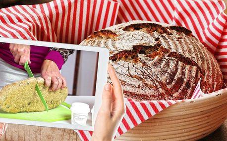 On-line kurz pečení chleba z kvásku i bez lepku