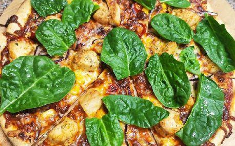 Jedna nebo dvě pizzy podle výběru z 22 druhů